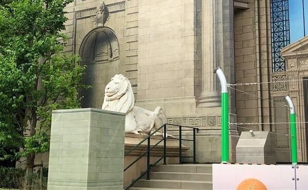 ニューヨーク図書館のライオン