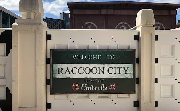 ラクーンシティへようこそ