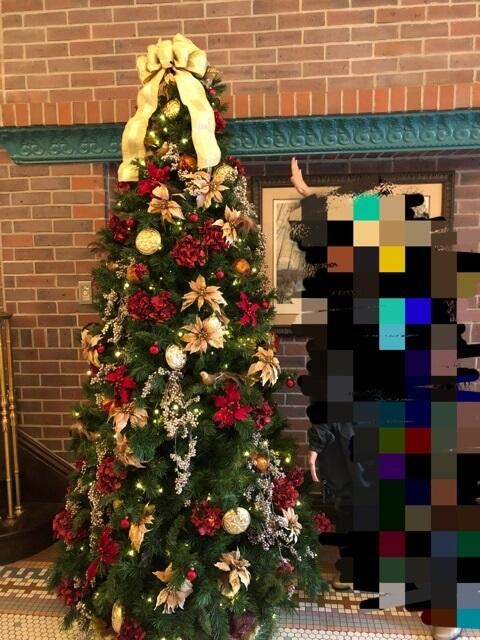 ロンバーズ・ランディングのクリスマスツリー