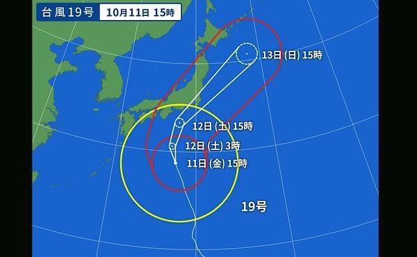 台風19号2019