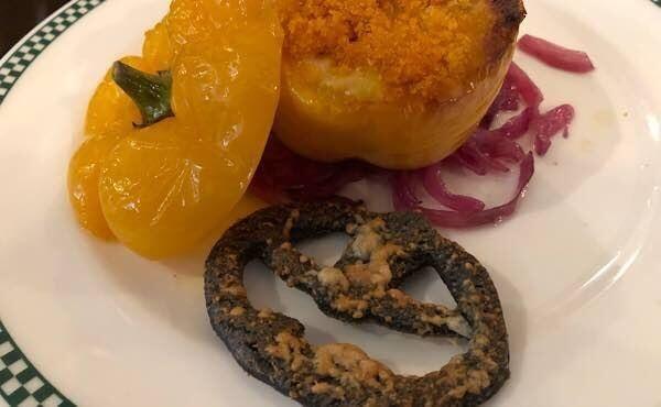 ハロウィーン・マカロニ・チーズグラタン