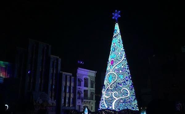 USJクリスマスツリー2019