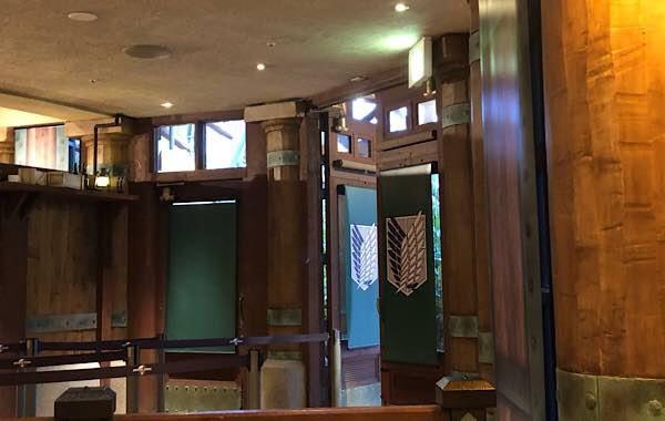 進撃の巨人 調査兵団の食堂