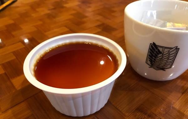 兵長の休息 紅茶のデザート